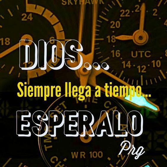 Dios siempre llega a tiempo
