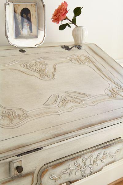 L'Isle-sur-la-Sorgue, Provence, Writing Louis XV Desk (detail)