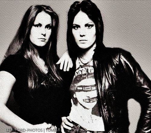 Risultati immagini per joan jett and lita ford photos
