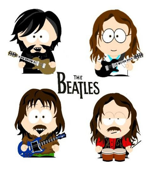 South Park vs The Beatles