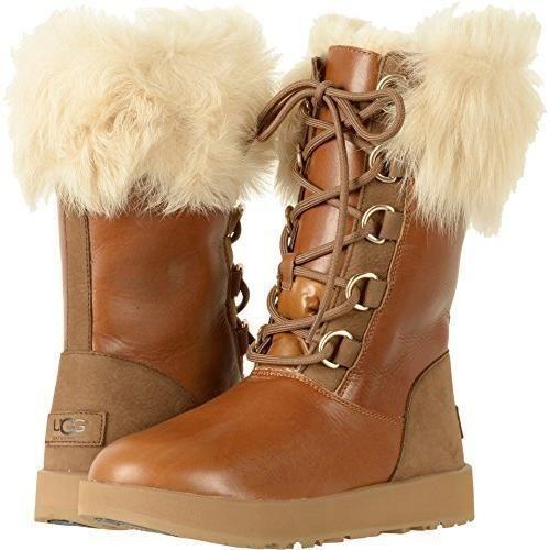 UGG Aya Chestnut Waterproof Boots