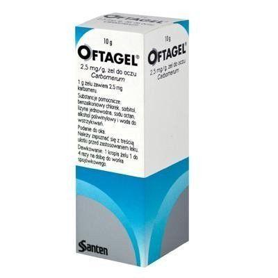 OFTAGEL gel 10g dry eye treatment