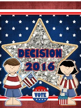 It is election time again!  I have update my election and president pack in time for primary elections and have included the 2016 presidential candidates.  This pack is editable so that you can adapt to keep current with events.  Of course I will be adding to this product as the year progresses.