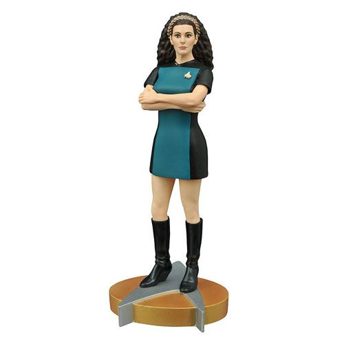 BLOG DOS BRINQUEDOS: Star Trek The Next Generation Deanna Troi Statue