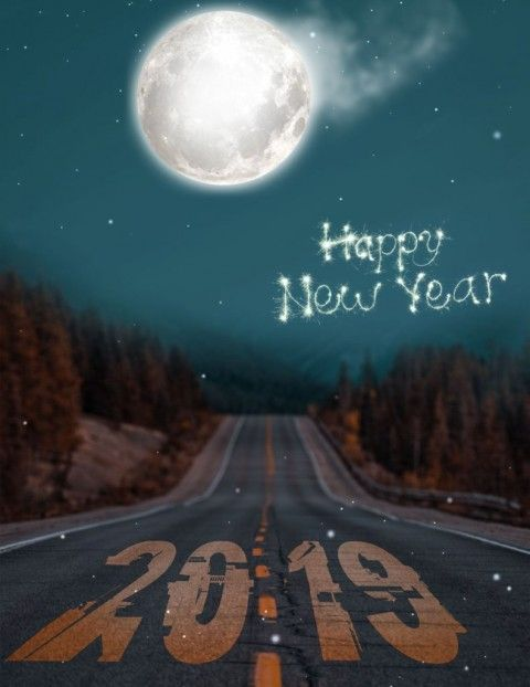 Happy New Year Editing Background 56
