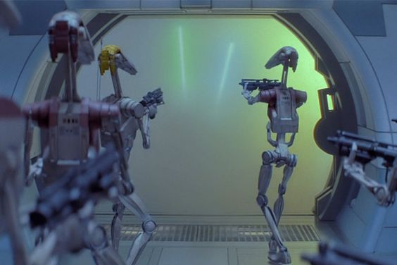 Battle Droid from the back