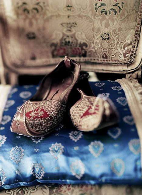 exotic bohemian slippers...these look like something you would find in Abu-Dhabi
