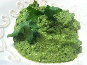 Project Kale: Roasted Sweet Potatoes with Walnut Pesto