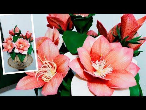 Papoula Rubi Youtube Papoula Flores Em Eva Arranjos De Flores