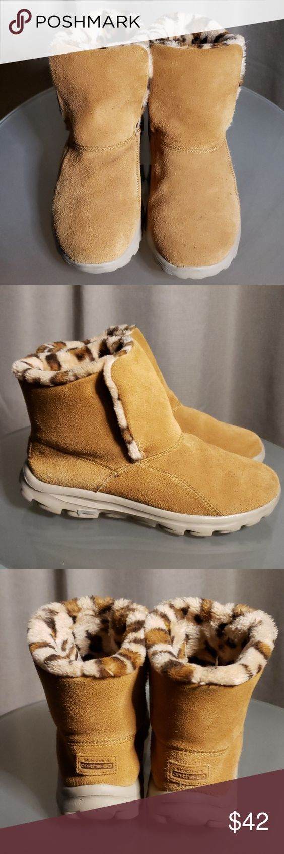 Brown Ugg Ankle Boots Neumel Waterproof Work Boots, HD Png