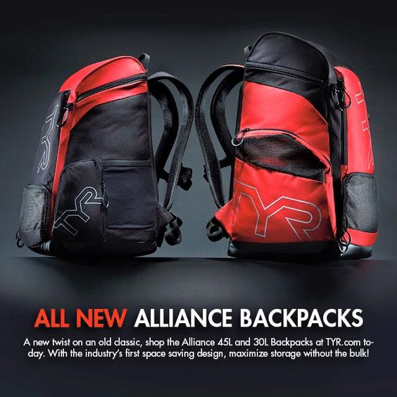 All new Alliance backpacks! Check it out on TYR.com!