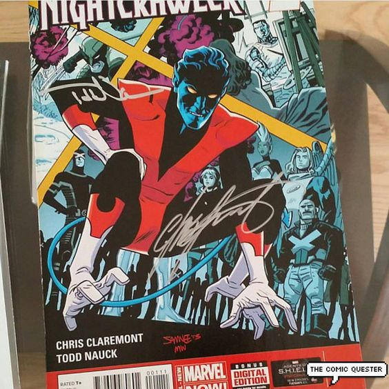 Nightcrawler solo series by Chris Claremont