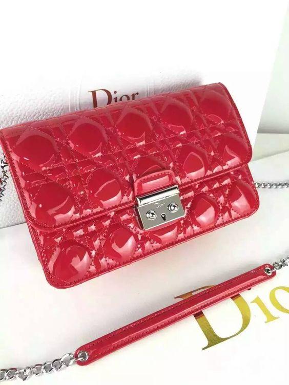 New style popular  Dior    cowhide bright 21cm 65% Dior2 whatsapp:+8615503787453