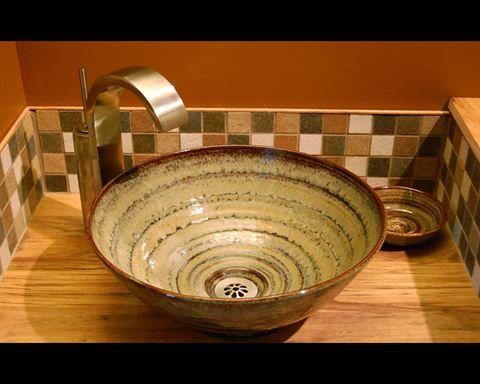 Florence Ceramic Vessel Sink Unique Bathroom Sinks Ceramic Vessel Rustic Sink
