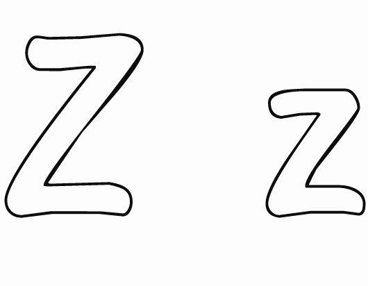 Letter Z Coloring Sheet New Letter Z Coloring Pages To And Print For Free Alphabet Coloring Pages Zebra Coloring Pages Coloring Pages