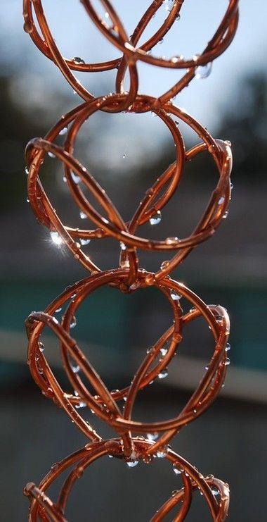 Love this rain chain.: