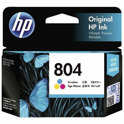 Details About Genuine Hp 804 Colour T6n09aa Ink Cartridge