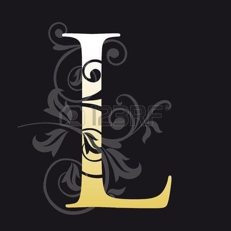 letra l, tipografía  photo