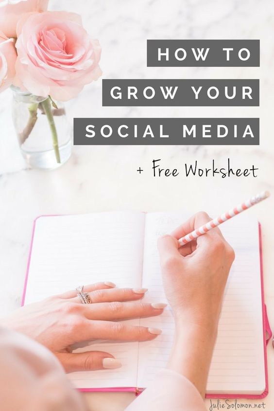 Alt How To Grow Your Social Media Following - By Julie Solomon - Brand & Blogger Consultant