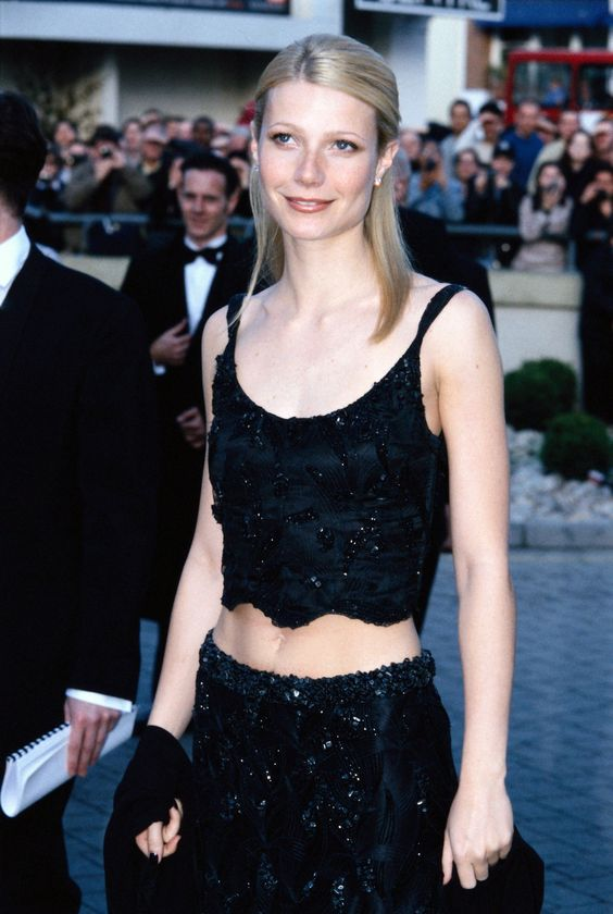 Gwyneth Paltrow at the BAFTA Awards in London, April 1999.