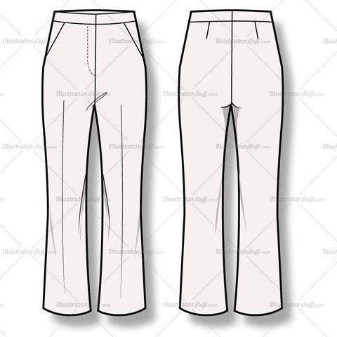 Popular Pants  Sewing Pattern 5740 Madetomeasure Sewing Pattern From