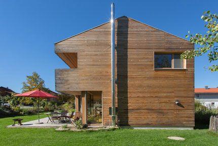 Holzhäuser im Allgäu, Referenzobjekte der Holzhauswerkstatt Riedle & Bader Baisweil, Holzhäuser in Massivholzbauweise, Brettstapelbauweise oder als Dübelhaus