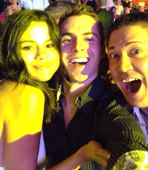 @LanceTheDriver1: LAS VEGAS with my buddy Ryan and the always beautiful @selenagomez.