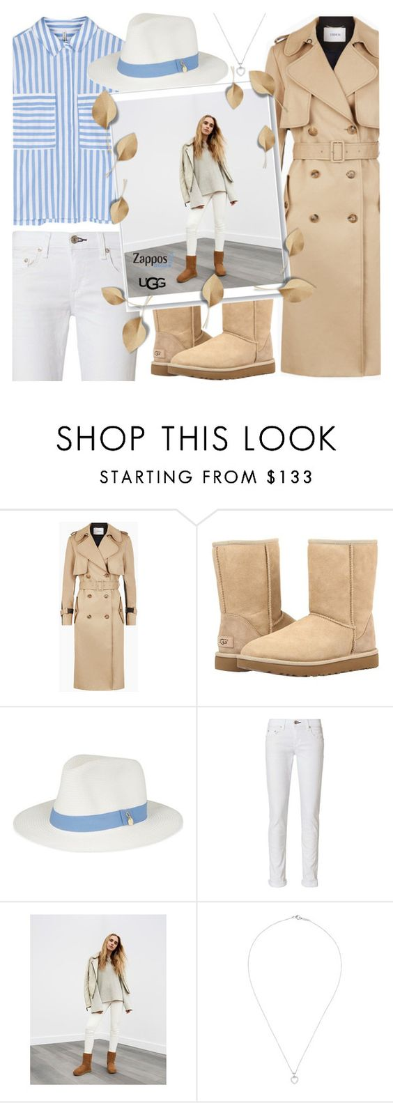 """The Icon Perfected: UGG Classic II Contest Entry"" by anamarija00 ❤ liked on Polyvore featuring UGG, Melissa Odabash, rag & bone, Tiffany & Co., ugg and contestentry"