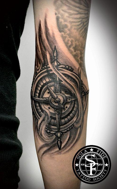Tattoo Elbow Tattoo Sftattoosociety Sola Fide Tattoo Society Tattoo Foottattoo Elbow Tattoos Cool Tattoos Elbow Star Tattoo