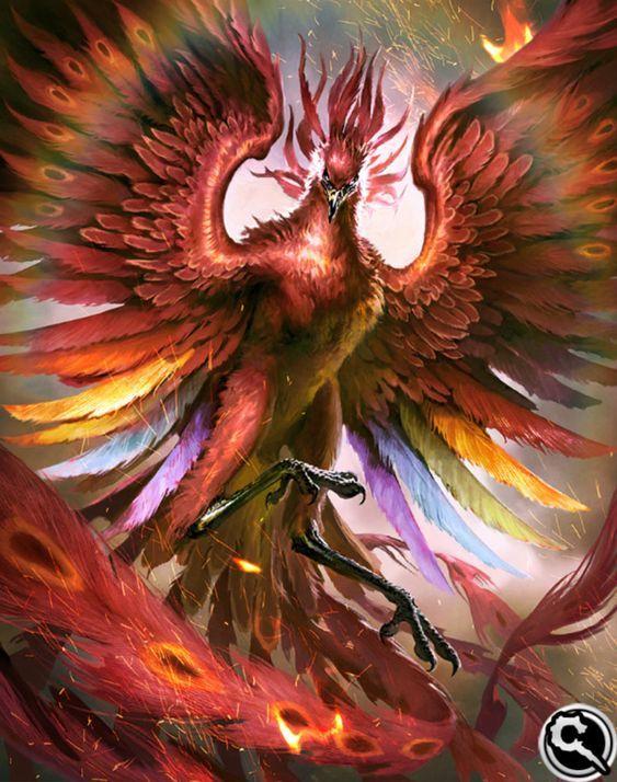 Artwork Final Fantasy Phoenix