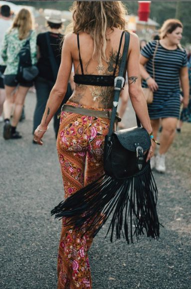 This is one of my favorite festival looks, super cute!