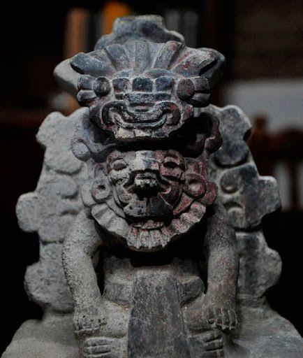 Representación dios cocijo, deidad zapoteca de la lluvia