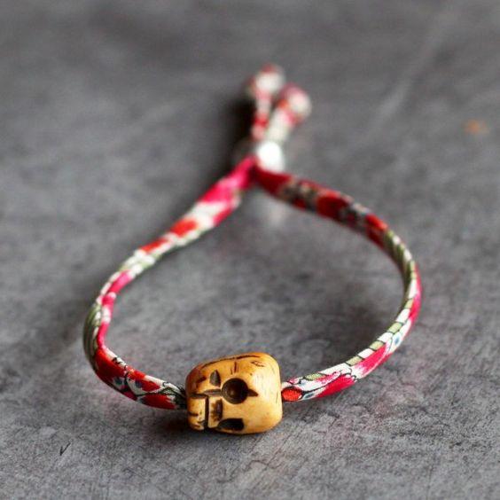 Bracelet liberty mini skull3