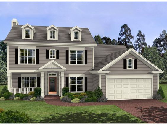 Story Colonial House Plans   houseplans  houseplan   colonial house plans  colonial style