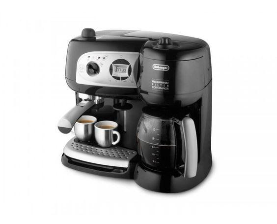 قهوه ساز ترکیبی دلونگی Bco 264 1 Delonghi Coffee Maker Bco 264 1 قهوه ساز چندکاره اسپرسوساز ترکیبی پمپی برای درست کردن قهوه ا Coffee Coffee Center Espresso