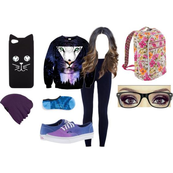 """""""school outfit #87"""" by mbvs on Polyvore"""