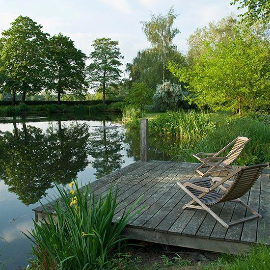 john brookes garden design wasser im garten teich holzdeck sitzplatz zuknftige projekte pinterest kerti tletek vz s nvnyek - Garden Design John Brookes