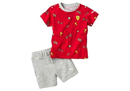 White Ferrari Infant Shield Pajama