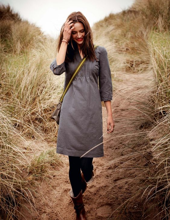 Boden usa laura dress i should wear dresses leggings and boots more often this fall so easy for Boden katalog