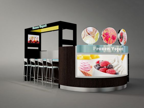 Kiosk Designs on Behance