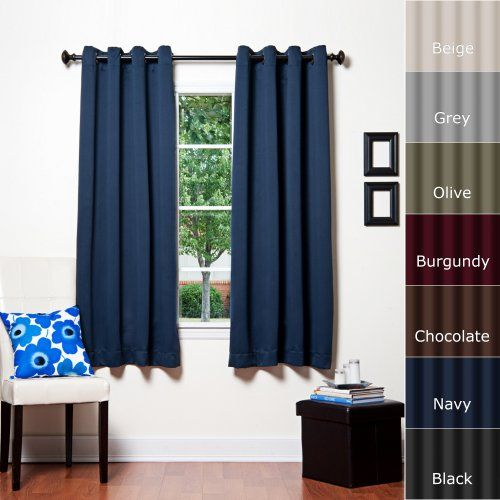Best Home Fashion introduces the new Blackout Curtain. It features ...