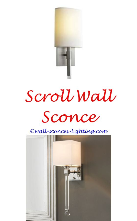 mythical 13 led wall sconce polished nickel - install wall sconce ...