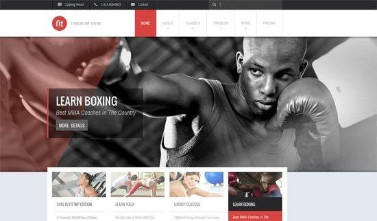 35 + HTML Fitness Gym Website Templates Free and Premium | Website ...