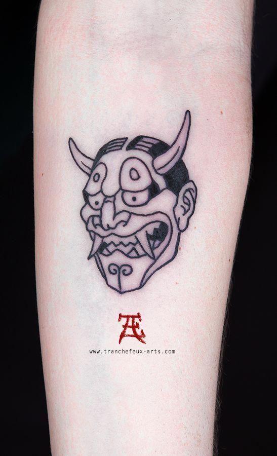 Japanese Tattoos Traditional Japanesetattoos Oni Tattoo