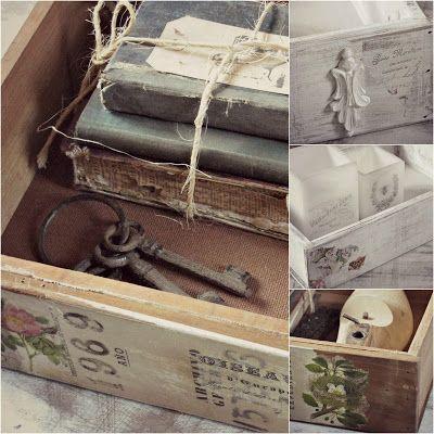 Tienda La Florinda: Cajas/Cajones vintage
