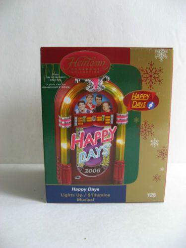 "Happy Days Jukebox ""Musical"" Carlton Ornament"