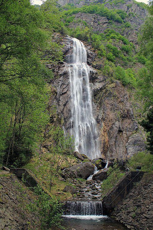 Pissevache waterfall, Valais