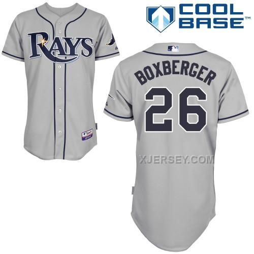 http://www.xjersey.com/rays-26-boxberger-grey-cool-base-jerseys.html Only$43.00 RAYS 26 BOXBERGER GREY COOL BASE JERSEYS Free Shipping!