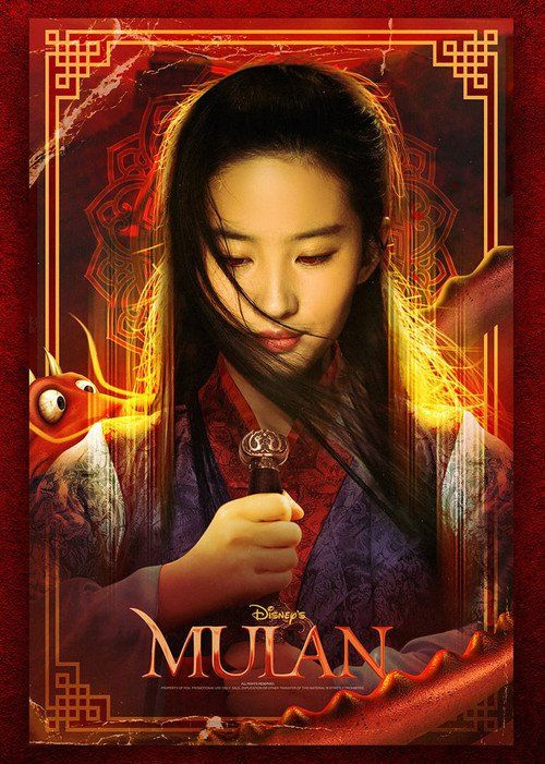 Image result for Mulan 2020 movie poster