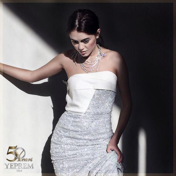 Exquisite #YEPREM pieces featured in a photo shoot for VIVA magazine Dubai.